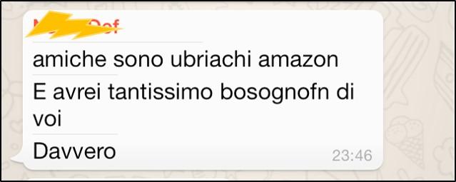 Ubriachi Amazon