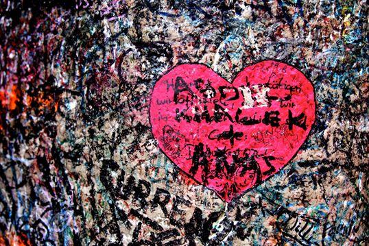 cuore graffito